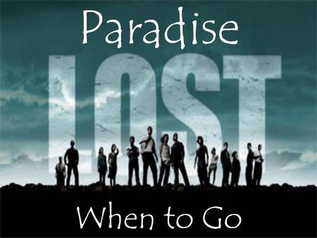 Paradise When to Go. WALT: know about the climate of Thailand.