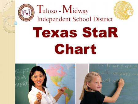 Texas StaR Chart. Agenda Definition of Texas STaR Chart Why is the Texas STaR Chart important Links to important information Tuloso Midway High School's.