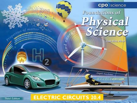 ELECTRIC CIRCUITS 20.4. Chapter Twenty: Electric Circuits  20.1 Charge  20.2 Electric Circuits  20.3 Current and Voltage  20.4 Resistance and Ohm's.