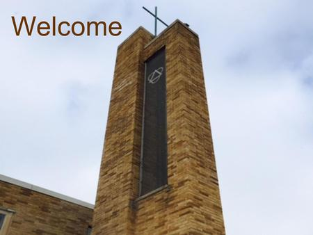 Welcome. What's happening at Trinity…. October Mission of the Month World Communion Special Offering.