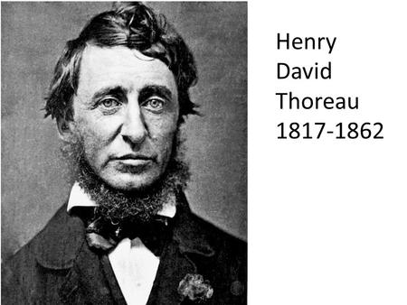 in his essay resistance to civil government Thoreau's essay civil disobedience or resistance to civil government,  published in 1849, is a call to arms similar to the stances that people like parks  and king.