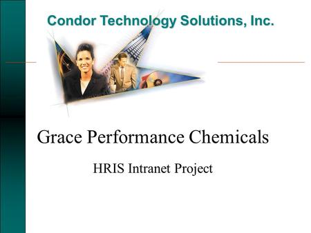 Condor Technology Solutions, Inc. Grace Performance Chemicals HRIS Intranet Project.
