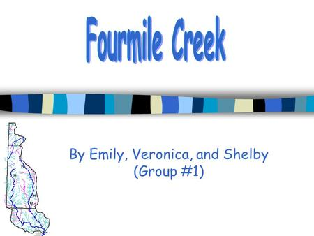 By Emily, Veronica, and Shelby (Group #1). Assignment n To develop a few hypothesis about the Fourmile watershed, in order to demonstrate our knowledge.