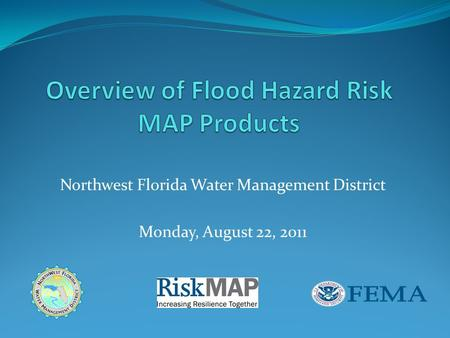 Northwest Florida Water Management District Monday, August 22, 2011.