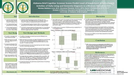 Alabama Brief Cognitive Screener (ABCs)