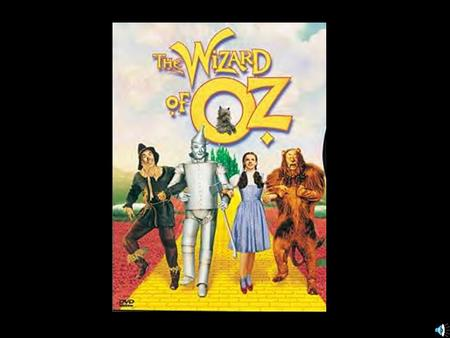 UNMASKING THE WIZARD OF OZ