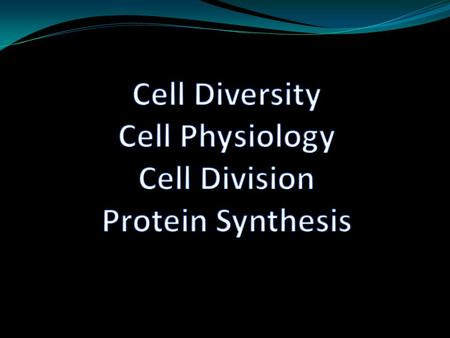 "Chapter 3 200 different cell types 4 basic different shapes to those cells Your textbook lists 7 different ""cell specialists. Know those 7 sections and."