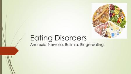 Eating Disorders Anorexia Nervosa, Bulimia, Binge-eating.