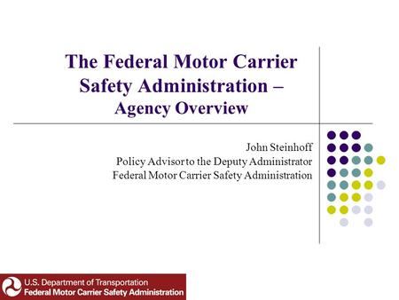 Chp motor carrier safety unit for What is the federal motor carrier safety regulations