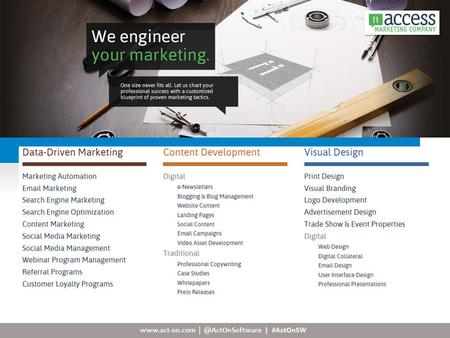 | #ActOnSW. To The Point Marketing is a full-service, digital marketing agency specializing in the architecture, design,