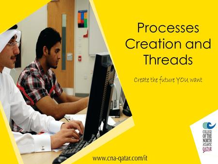 Processes Creation and Threads. Shared Resource Example The console is just a place where text can be printed by the application currently running. Program.