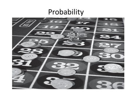 Probability. What is probability? Probability discusses the likelihood or chance of something happening. For instance, -- the probability of it raining.