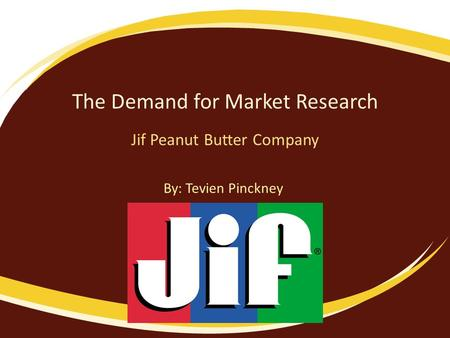 The Demand for Market Research