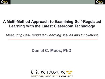 Measuring Self-Regulated Learning: Issues and Innovations