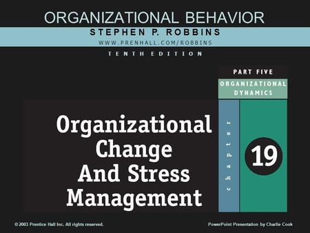 robbins s p 2005 organizational behavior new jersey pearson education inc The importance of the bureaucratic management theory in prentice hall, new jersey robbins, sp behavior, pearson education scott, pm.