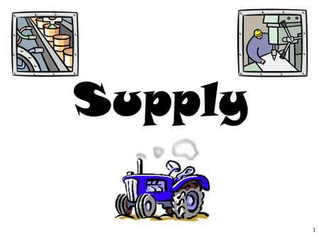Supply 1. 5 Shifters of Supply 2 Subsidies It is government payment to support business or market. Subsidies cause the supply of a good to increase. 1.Input.