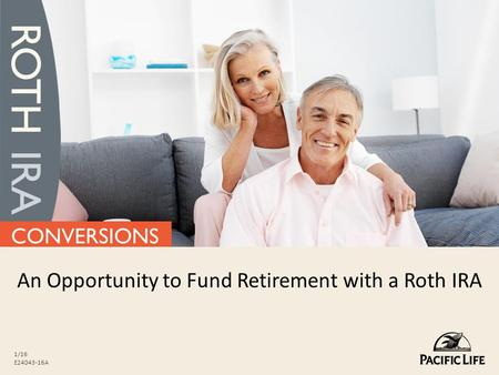 An Opportunity to Fund Retirement with a Roth IRA