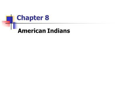 Chapter 8 American Indians. Symbol – American Indian Woman.