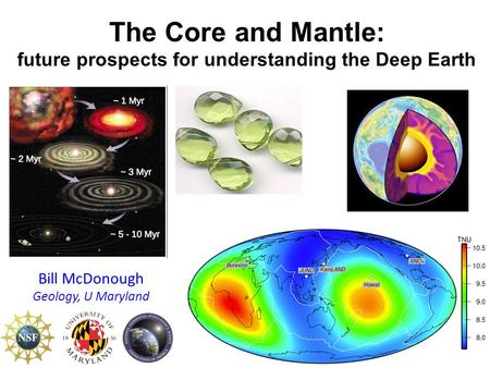 The Core and Mantle: future prospects for understanding the Deep Earth