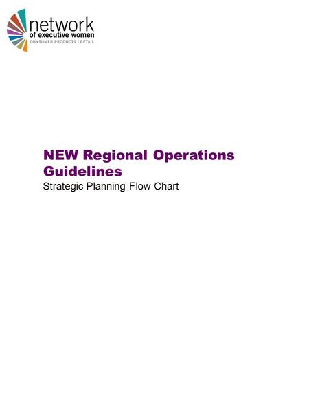 NEW Regional Operations Guidelines Strategic Planning Flow Chart.