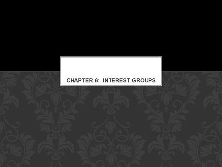 Interest Groups are one of three main linkage institutions. Interest Groups Media Political Parties LINKAGE INSTITUTIONS.