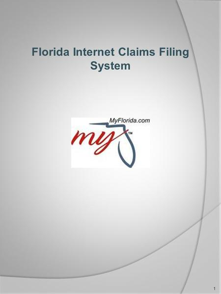 Florida Internet Claims Filing System 1. Locating Fluid Initial Claims Application from Floridajobs.org From the home page (Floridajobs.org) click on.