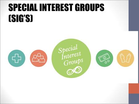 SPECIAL INTEREST GROUPS (SIG'S). Which of the following is the most powerful? Voters Government Agencies (Bureaucracy) Elected Officials Political Parties.