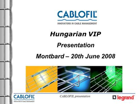 Hungarian VIP Presentation Montbard – 20th June 2008.