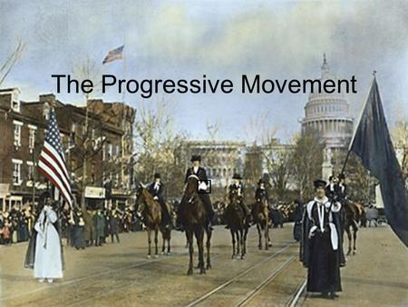 The Progressive Movement Progressivism Definition: Collection of different ideas and activities to deal with fixing problems believed to be plaguing.