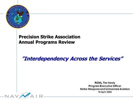 Program Executive Officer Strike Weapons and Unmanned Aviation