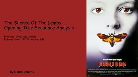 Analysis of Opening Title Sequence: The Talented Mr Ripley ...