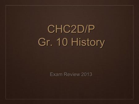 history exam 2