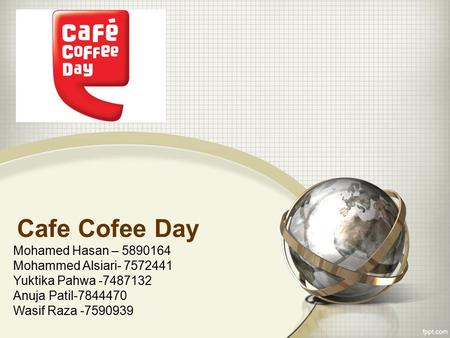 Cafe Cofee Day Mohamed Hasan – Mohammed Alsiari