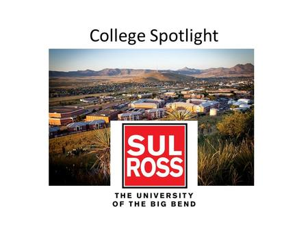 College Spotlight. What can I study at Sul Ross? The most popular program is teaching. Other popular programs are: business criminal justice science.