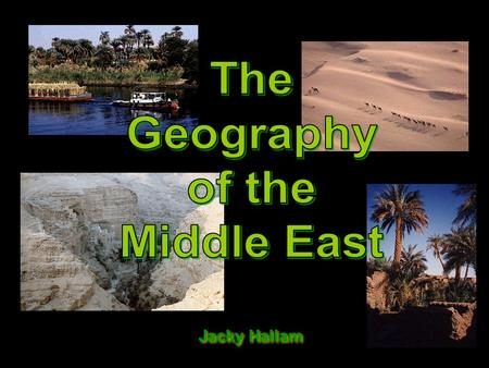 Jacky Hallam. The Middle East Today: Political Map.