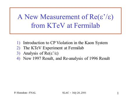 A New Measurement of Re(e'/e) from KTeV at Fermilab