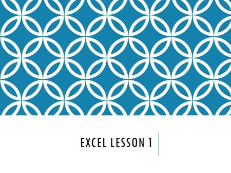 EXCEL LESSON 1. WHAT IS EXCEL? Excel is a spreadsheet program. A spreadsheet is a grid of rows and columns in which you enter text, numbers, and formulas.