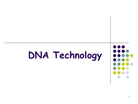 1 DNA Technology. 2 DNA Extraction Chemical treatments Chemical treatments cause cells and nuclei to burst sticky The DNA is inherently sticky, and can.