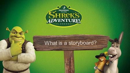 What is a storyboard?. Can you arrange this story into the correct order?