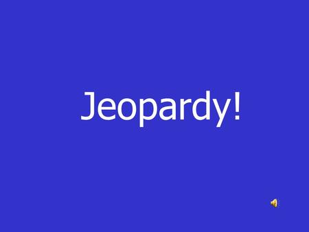 Jeopardy!. MitosisMeiosisVocabulary Mitosis, Meiosis or Both Cell Division Cell Cycle 100 200 300 400 500.