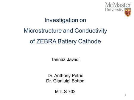 Microstructure and Conductivity of ZEBRA Battery Cathode