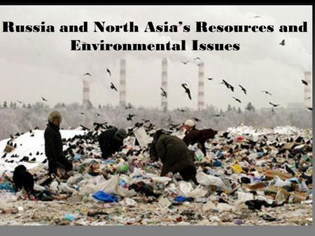 Russia and North Asia's Resources and Environmental Issues.