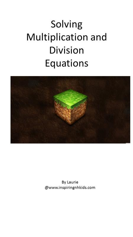 Solving Multiplication and Division Equations By