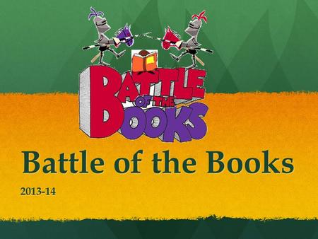 Battle of the Books 2013-14.