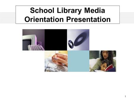 1 School Library Media Orientation Presentation. M.Ed., Add-on Certification, Initial Certification, Ed.S. Some M.Ed. and certification classes meet one.