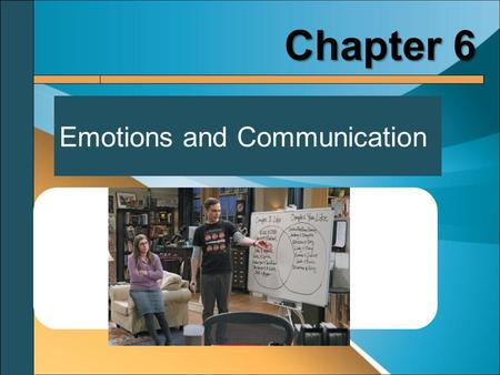 Emotions and Communication