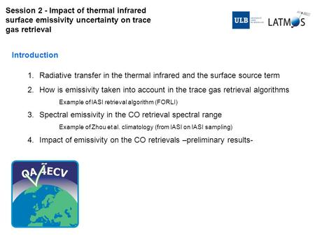 Radiative transfer in the thermal infrared and the surface source term