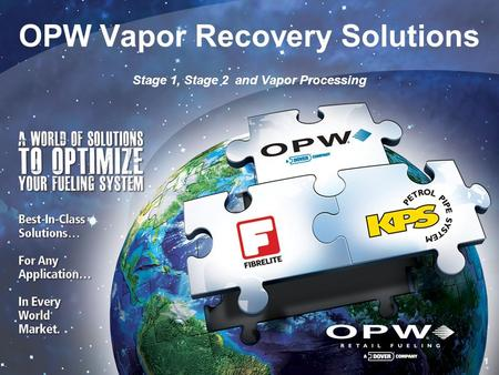 OPW Vapor Recovery Solutions
