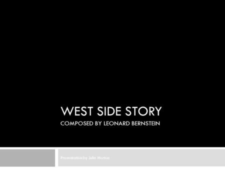 a review of arthur laurents play west side story West side story by arthur laurents, stephen sondheim (composer) starting at $500 west side story has 1 available editions to buy at alibris.