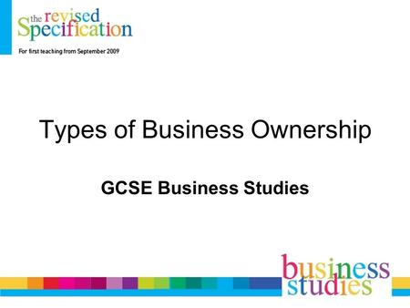 Types of Business Ownership